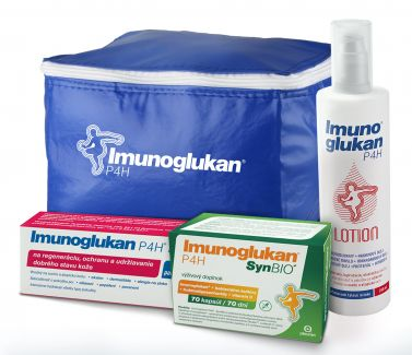 Letný balíček Imunoglukan P4H®