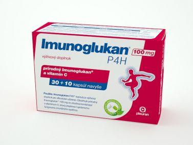 Imunoglukan P4H® 100 mg 30+10 kapsúl