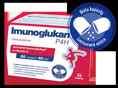 Imunoglukan P4H® 60 kapsúl